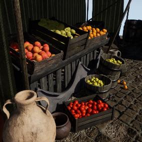 Medieval Market Pack