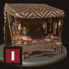 "A collection of triple­A assets for you to decorate a medieval market. ""Medieval Market"" is an addition to the ""Medieval"" Series"