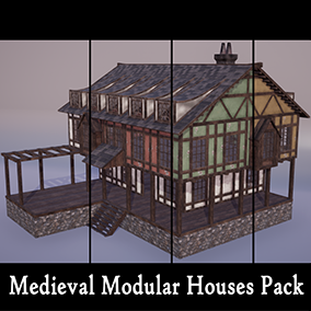 With this package you will be able to make modular houses and spacious interior designs.