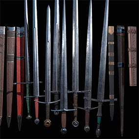 If your game is in need of AAA medieval weapons, then this pack is for you!