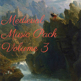 The third volume in a collection of medieval and fantasy style music.