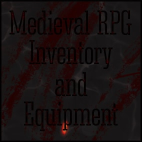 Medieval RPG Inventory and Equipment is an inventory system designed for RPG games. The system was built to lend you a hand to create an advanced inventory system with RPG elements(quick items, equipment window and many more)
