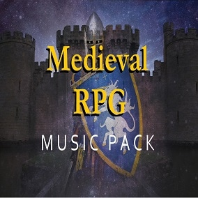 Soundtrack for RPG and medieval game featuring 20 original music loops
