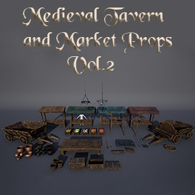 Medieval Assets Pack with 36 unique meshes.