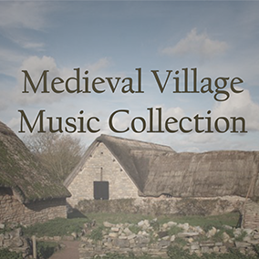 A collection of fourteen tracks in a medieval fantasy style using acoustic and realistic sounds. This music is generally calm and pastoral in character.
