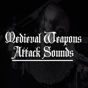 15 Medieval weapons attack SFX with three variation each!