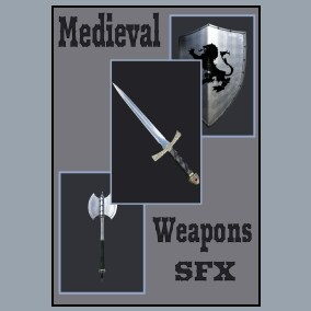 Medieval Weapons SFX contains 228 mono and 228 stereo sound