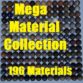 A collection of 196 Materials