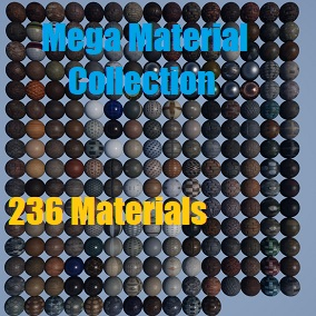 A collection of 236 Materials