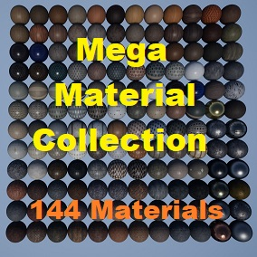 A collection of 144 Materials