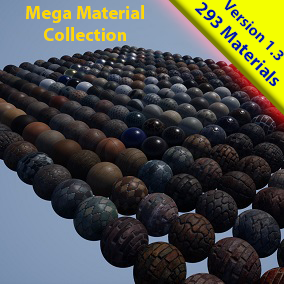 A collection of 293 Materials