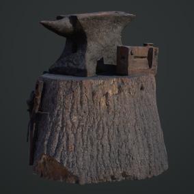 Megascans:中世纪工具是一个优质3D扫描合集,其中包括LOD和高多边形源,以及经过烘焙和校准的PBR贴图。