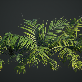 Megascans: Tropical is a collection of premium quality 3D scans including LODs and high-poly source, with baked and calibrated PBR maps.