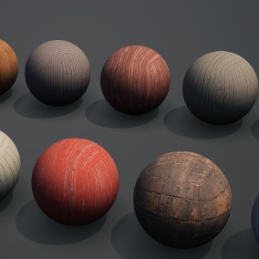 Megascans: Wooden Planks Vol. 2 is a collection of fully tileable materials physically based with scanned and calibrated values for standardized use in any application.