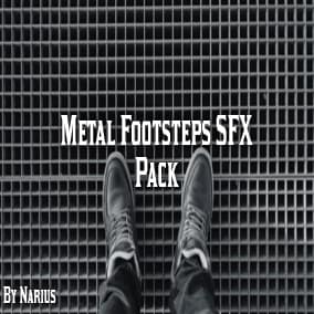 This pack contains 150 high quality footstep sounds.
