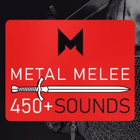 An extensive collection of metal melee weapons action sounds.