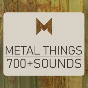 A vast collection of different kinds of interactions with metallic objects.