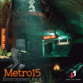 Distopian Underground Environment