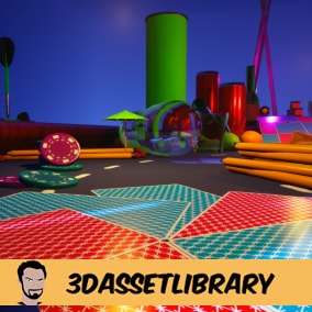 A fun Micro Race Track which includes over 40+ unique assets for Unreal Engine 4.20+