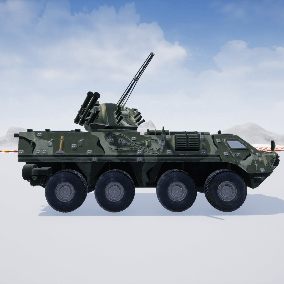 Fully functional Military Vehicle