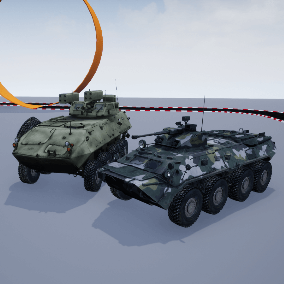 Fully functional Military Vehicles pack