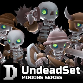 UndeadSet assets to give you a quick start in building your own character