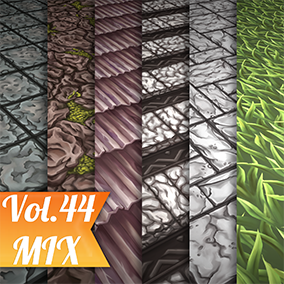 6 Hand painted tiled textures. Great for desktop or mobile games.