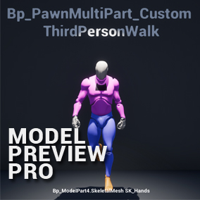 Model Preview Pro-Useful for Modeler And Developer to test Models and Animations