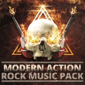 Dynamic, powerful, energetic themes with heavy and hard rock riffs.