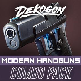 A collection of Handguns that can be used for games!
