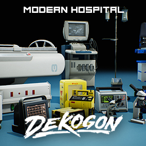 A collection of machines, tech devices, and instruments found in a Modern Hospital!