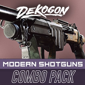 A collection of modern shotguns that can be used for games!