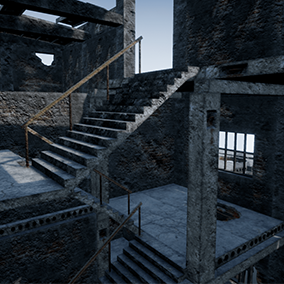 High quality PBR models PACK for the creation of industrial landscapes, abandoned factory.