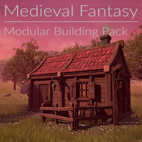 Simple. High Quality. Affordable. This pack aims to provide you stunning but simple stylised fantasy assets to build houses, environments and worlds with.