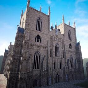 Modular gothic Church.