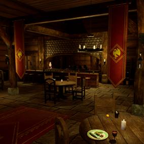 A variety of models for creating modular fantasy inns