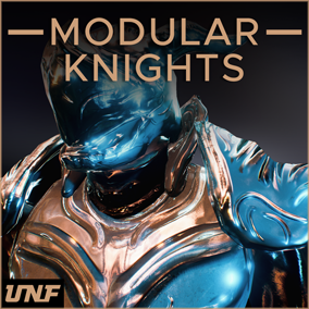 This is a package that allows you to bring thousands of fantasy knight type characters into your game. Swap between different helmets, breastplates, legs, capes, arms, accessories and cloth to create infinite variations combined with smart materials!