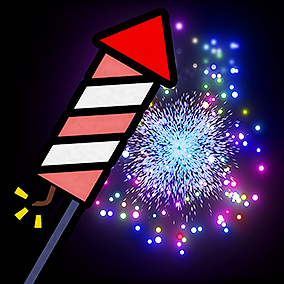 This modular Fireworks pack does not only come with 304 different particle effects, it also comes with some great blueprints made by Panda Studios to combine a variety of parts and create your own new fireworks explosions, firework sequences, and shows.