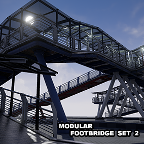 A High Quality modular footbridge set for your products