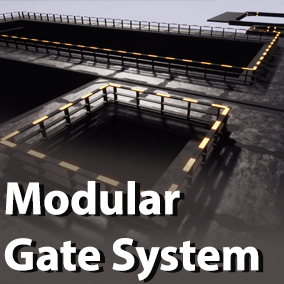 A pair of actors that can dynamicly build gateways of varying size and functionality with working doors, while using custom meshes and motions set by the user.