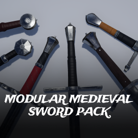 Create your swords with this modular swords pack!