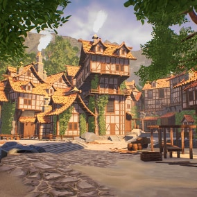 A Modular Medieval Town, Village Environment To Unleash Your Imagination!
