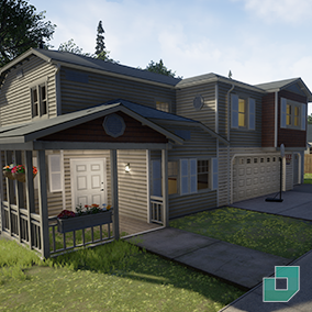 Build all-new house designs quick and easy with the new complete Modular Neighborhood Pack Part 2!