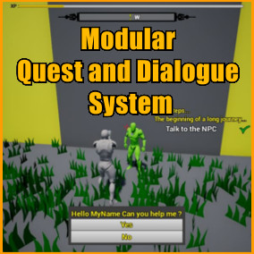 This product offers you three powerful and simple to use modules which can be used together to add Quest, Dialogues and a Compass to you game !