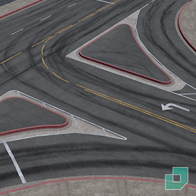Create various road types with multiple lanes.