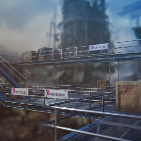 Modular Scaffolding done in realistic style with PBR Textures