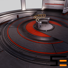 Customizable architectural assets for a command center environment.