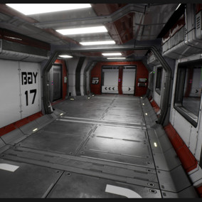This package will allow you to quickly and easily create a variety of Sci Fi Corridors.