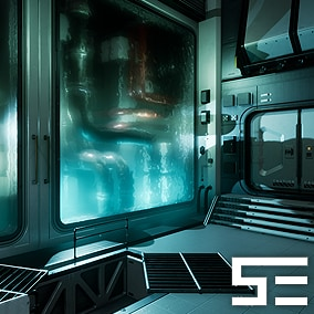 The fourth entry of the Modular SciFi Series' engineering collection. This product provides next gen, highly customizable assets perfect for developing environments for scifi or even semi-futuristic projects set in an engineer-esque location.