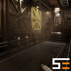 The first entry of the Modular SciFi Series' engineering collection. This product provides next gen, highly customizable assets perfect for developing environments for scifi or even semi-futuristic projects set in an engineer-esque location.